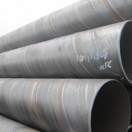 螺旋管价格630*7螺旋钢管/大口径螺旋管加工厂