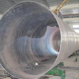 螺旋管价格630*9螺旋钢管/大口径螺旋管加工厂