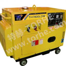 静音推车式250安柴油发电电焊两用机组
