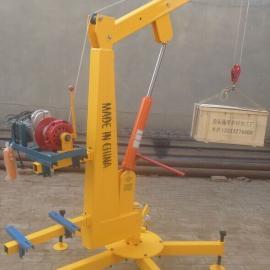 如何操作小吊机吊运机小型吊机楼房上料机小型吊运机