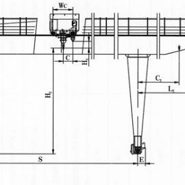 供应U型10-50/10T双梁吊钩门式起重机 纽科伦厂家直销