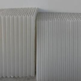 PE50六角蜂窝斜管填料