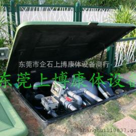 海口私家泳池工程  意万仕EMD地埋式一体化过滤系统