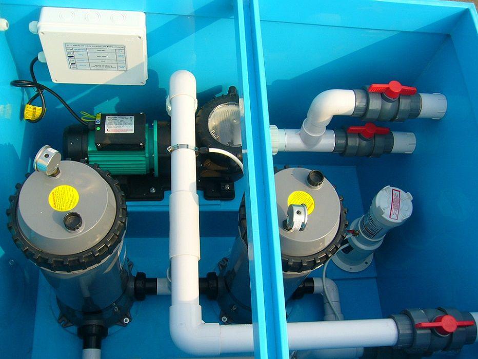游泳池地埋式一体机、循环水泵过滤器