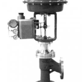 气动小口径单座角型调节阀