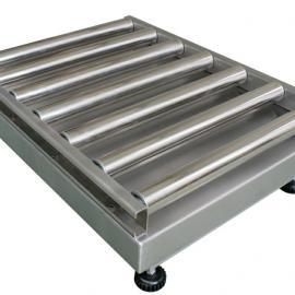 不锈钢筛选辊道秤,输送机上用的滚筒秤200KG