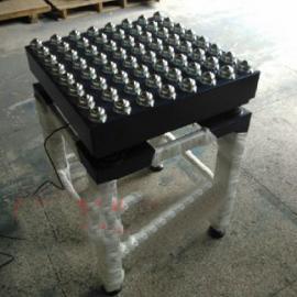 无动力电子滚轮秤,200KG热敏打印滚筒电子秤