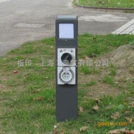 供应 指印 户外防水插座灯柱 ZD2622 草坪灯 庭院灯