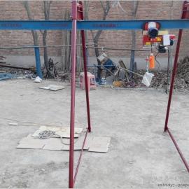四柱小吊机便携式吊运机室外直滑式小型吊机小型吊运机