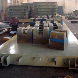 3. 4*21米50吨电子地磅,10t电子地泵称