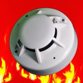 无缘开关量烟感探测器 继电器光电感烟火灾探测器