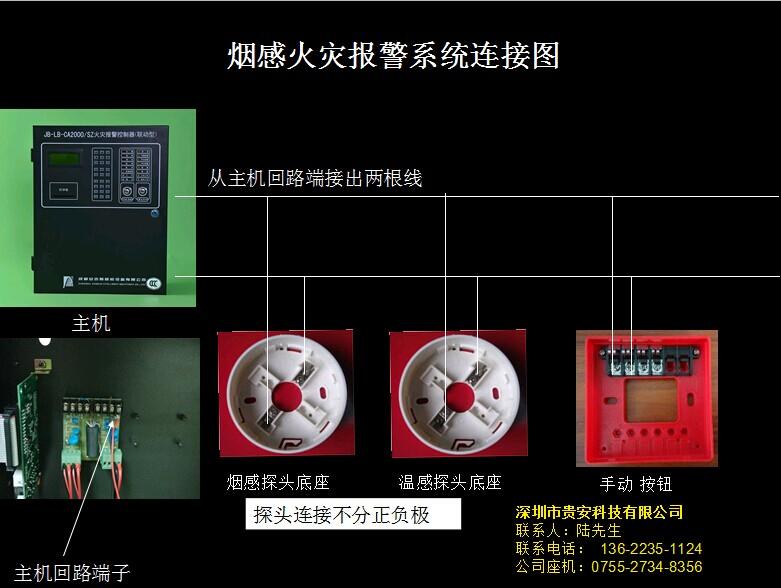 消防主机接线图_HJ1756ZB消防广播通讯控制器松江云安HJ1