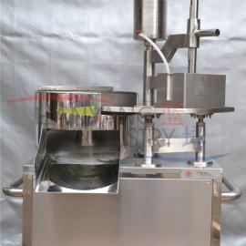 广州蓝��切熟肉片机 自动不锈钢牛肉切片机 切肉机