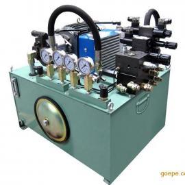 东莞龙门加工中心机油站 专业订制非标成套液压站系统