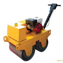 修复受损路面必备的手扶式双轮压路机 振动压路机卖价