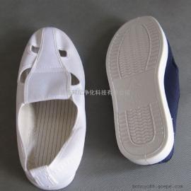 邦尼防静电工鞋,帆布四眼鞋批发