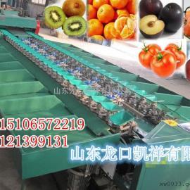 西红柿自动分选机分级效果精确,耐用钢材寿命长