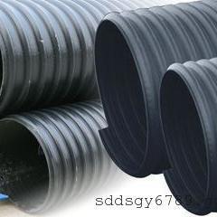 HDPE钢带增强聚乙烯螺旋波纹管最低价