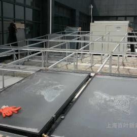 平板太阳能热水系统安装