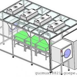 广州简易无尘室|洁净棚系列百级至万级洁净棚
