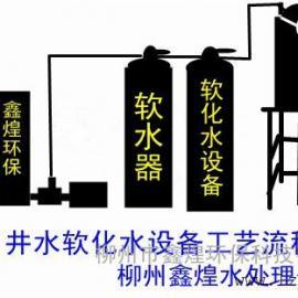 软化水设备内部原理结构(鑫煌水处理公司)