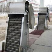 不锈钢机械格栅除污机,污水处理设备