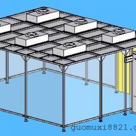 佛山洁净棚系列|简易型无尘室|可移动简易无尘室