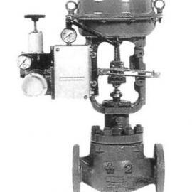 小口径低噪音气动笼式调节阀
