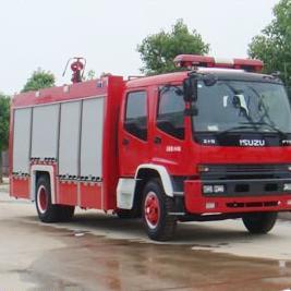 江特牌五十铃(国四)8吨泡沫消防车