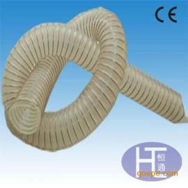 透明PU钢丝管 塑料软管 木工机械用管