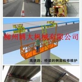简易型桥梁检测车加固车