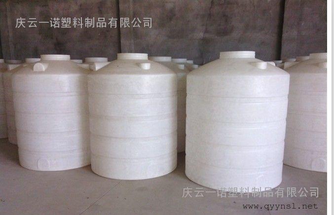 5T次氯酸钠储罐,5T蒸馏水储罐,5T耐腐蚀塑料桶