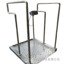 300公斤轮椅电子称,不锈钢轮椅称
