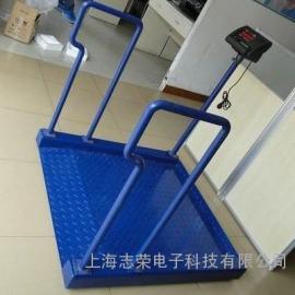 不锈钢轮椅秤,带斜坡不锈钢轮椅称