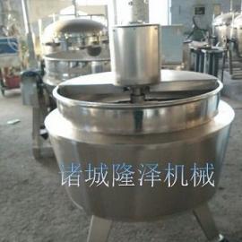 蒸汽双向搅拌夹层锅隆泽200L