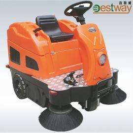 厂家直销CZ1400智能版中型驾驶式扫地车