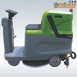工厂直销BC600D迷你型驾驶式自动洗地车