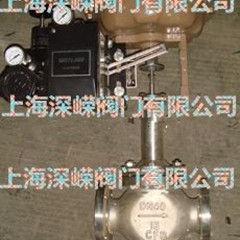 气动薄膜三通分流调节阀