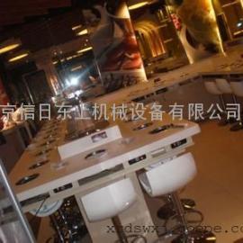 西安回转火锅设备 西安旋转火锅设备  西安回转火锅传送带