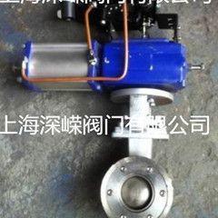 QV647Y气动V型球阀