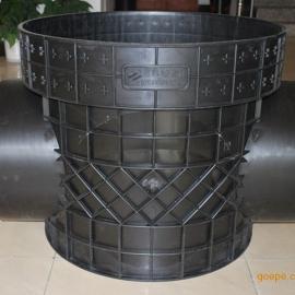 污水井直通井座、流槽直通井座、塑料检查井直通井座