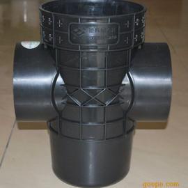 雨水井、塑料检查井起直通井座、沉泥直通井座