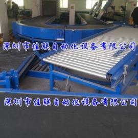 DF-60仓库输送设备_U形输送线_环形传送带_快递皮带运输机
