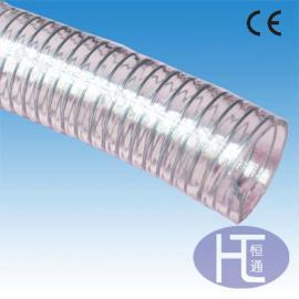 食品级软管 塑筋增强软管 聚氨酯干性食品输送管