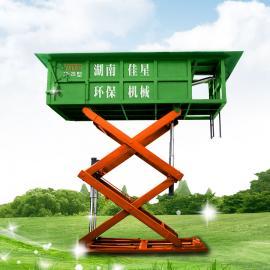 贵州地区可订制垃圾压缩设备6方地埋式垃圾中转站带压缩功能