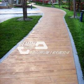 济宁压模地坪施工材料|梁山水泥压花地坪|市中混凝土仿石路面