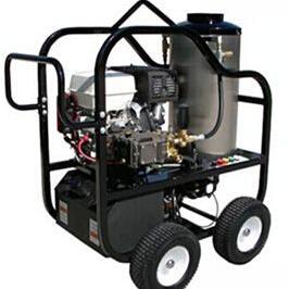 大连开发区燃油驱动热水高压清洗机价格低