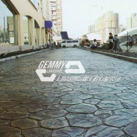 青岛彩色水泥压印地坪|李沧广场砖压模地坪|城阳艺术压花地坪
