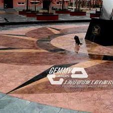 喀什艺术地坪|莎车压花地坪施工模具|叶城人行道压模混凝土