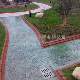 淮安高品质压模地坪|清河混凝土压花地坪|清浦仿石压印路面
